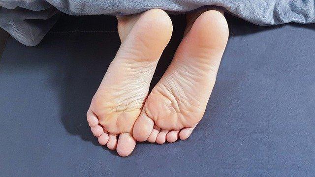 Symptomen van hielspoor